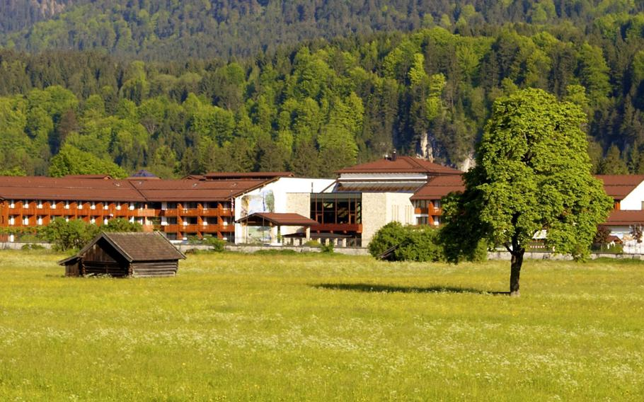 Edelweiss Lodge and Resort, an Armed Forces Recreation Center located near the Alps in southern Germany, has recently made some changes in the face of troop level reductions in Europe and fewer reservations being made at the hotel in recent months.   Brad Hays/Courtesy Edelweiss Lodge and Resort