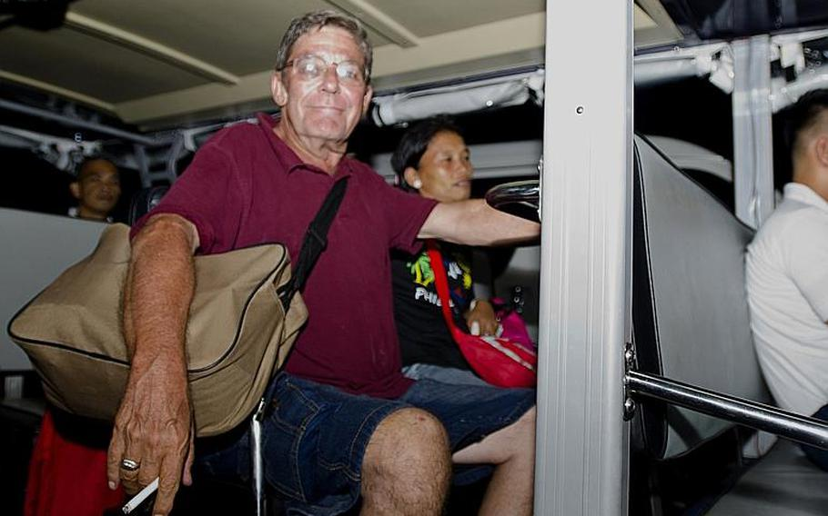 Mike Asell and his wife, Lyn, arrived in Manila, the Philippines, on Nov. 13, 2013, five days after their home island was devastated by Typhoon Haiyan. The Asells hope to return to Tacloban soon, but worry what will be left when they get there.