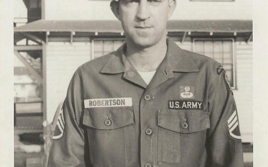 """The family of Army Sgt. 1st Class John Hartley Robertson, seen here, has launched a GoFundMe.com page to raise the $15,000 needed for an exhumation and DNA test on Robertson's mother to see if a man in a remote village in Vietnam is in fact the missing Special Forces soldier as he claims to be. The search for answers was documented in a controversial film earlier this year titled """"Unclaimed."""""""
