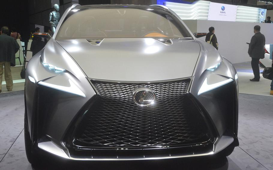 The Lexus LF-NX concept is a luxury compact SUV with a turbocharged 2.0 liter engine.