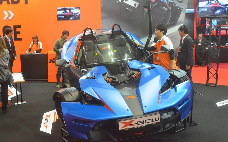 The X-Bow GT by Austrian automaker KTM goes from 0-60 mph in just over four seconds.
