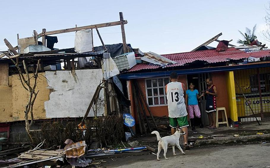 Victims of Super Typhoon Haiyan in and around Tacloban, Philippines are trying to piece their lives back together nearly two weeks after the disaster struck their city.