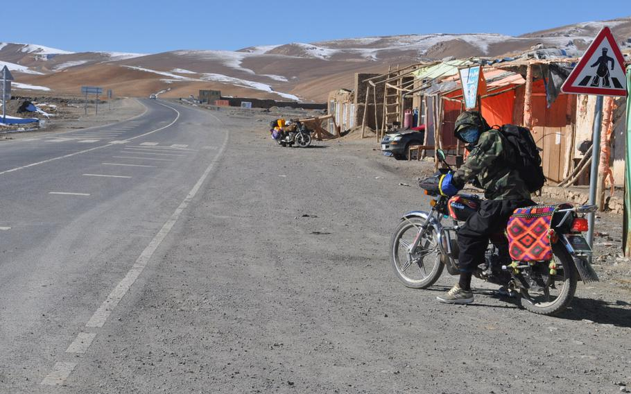 Qarganato, a windswept village high in the mountains of Bamiyan province. There was already a dusting of snow in early November and villagers say by April, when the presidential election is slated to take place, it may be impossible to reach polling stations due to heavy snow.