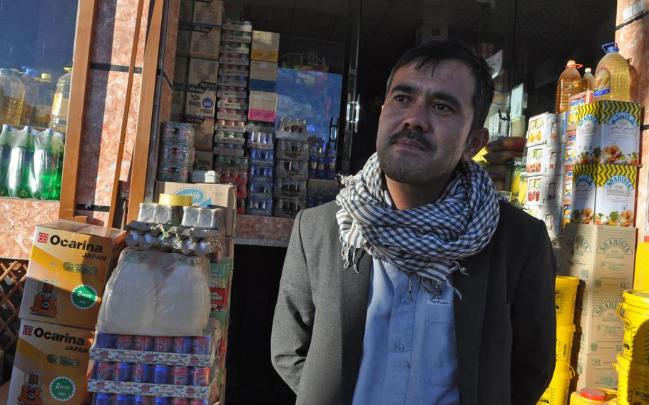 Haji Hussein, who owns a large grocery store in Bamiyan, Afghanistan, says he's had to raise prices by 20 percent due to Taliban harassment of truckers on the main road between Bamiyan and Kabul. At one point, the road became so dangerous that drivers would take mountain backroads, adding a full day to their drive.