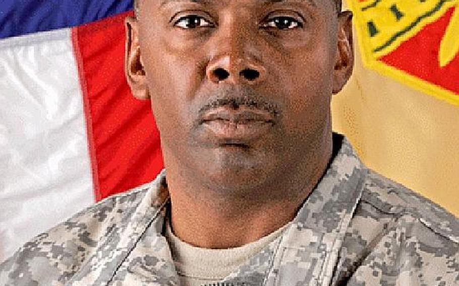 Command Sgt. Maj. Sa'eed Mustafa