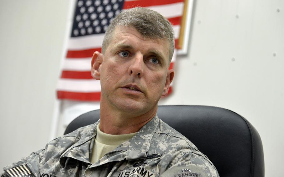 Capt. John Young, a company commander for the East Africa Response Force at Camp Lemonnier, Djibouti, talks about his unit being called to action in South Sudan where ethnic conflict between warring factions came dangerously close to the U.S. Embassy in Juba.