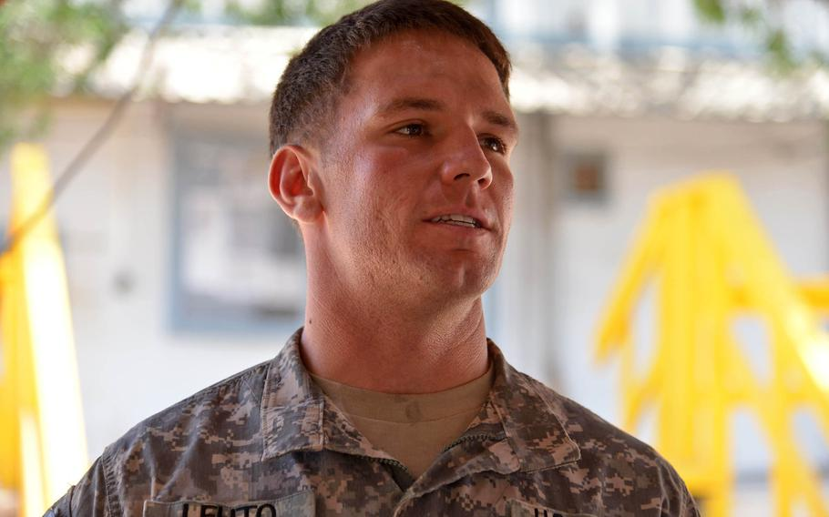 Sgt. John Lehto, of 1st Combined Arms Battalion, 18th Infantry Regiment, and a sniper team leader, said the feedback he's received from the troops he's trained, including Burundi soldiers bound for Somalia, has been positive.