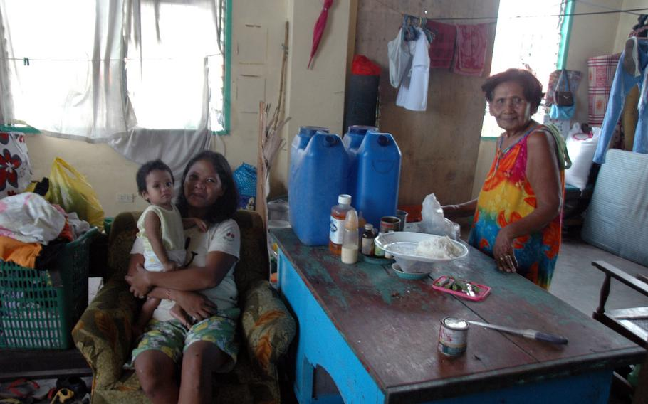 Some Filipino victims of Typhoon Haiyan are still living in termporary shelters eight months after the disaster.