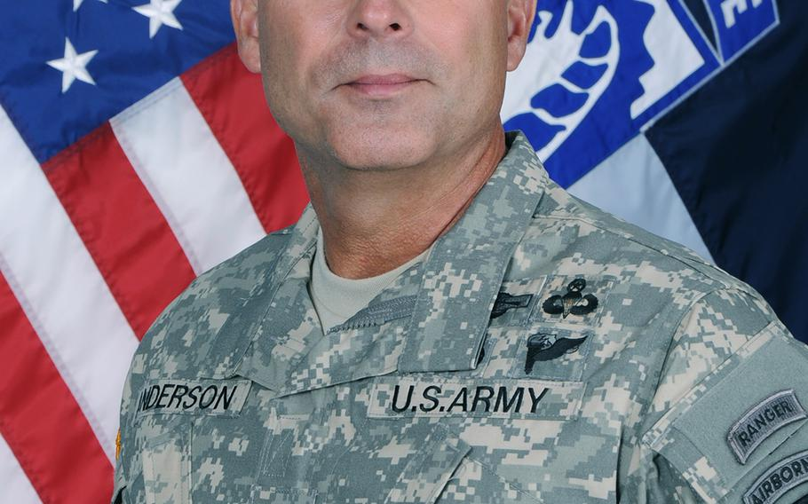 Lt. Gen. Joseph Anderson