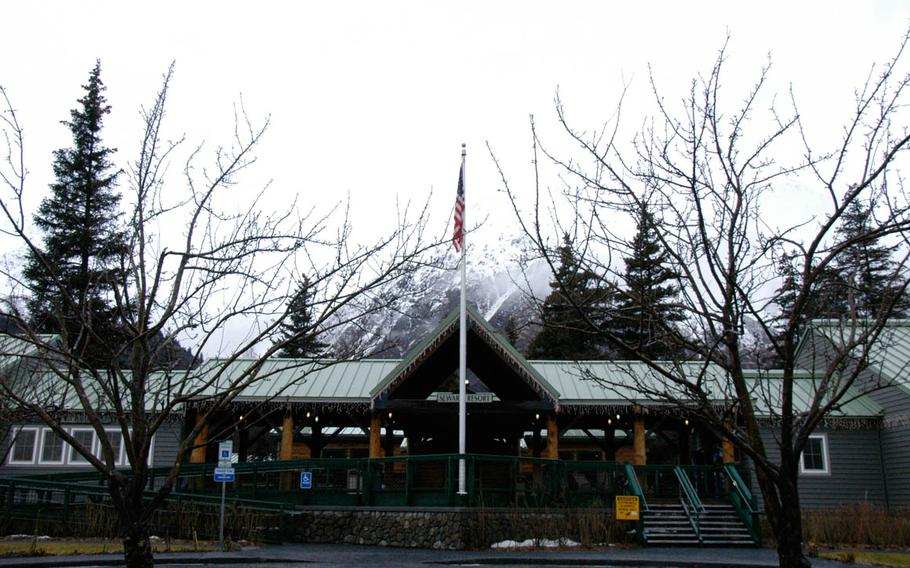 Seward Military Resort in Alaska can play host to 450 guests a day during the peak summer tourist season.  The resort has hosted wounded soldiers from the Army's Alaskan Warrior Transition Battalion as well as troops who come for rest and recreation.