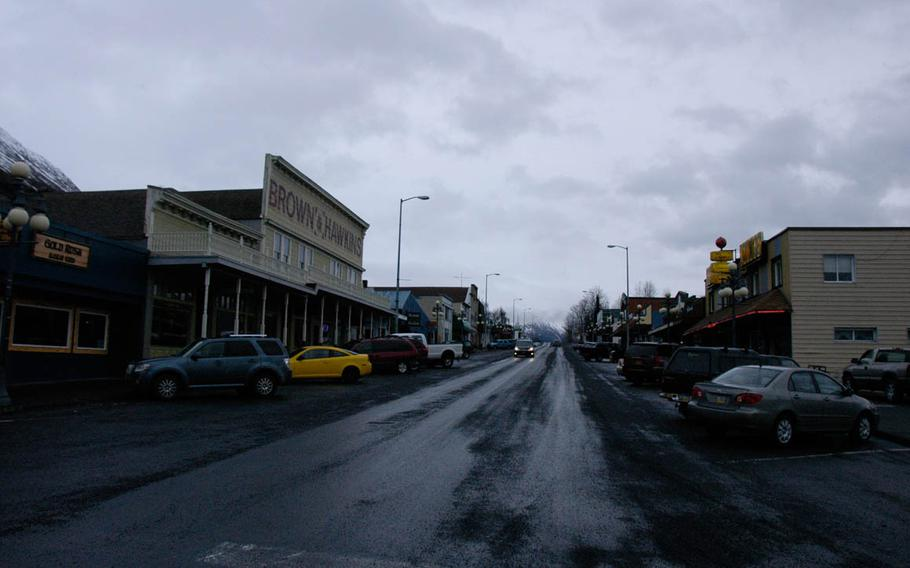 With a population of 3,500, there's not much going on downtown in Seward, Alaska in winter, but thanks to the tourist season, the town swells to 45,000 in summer.