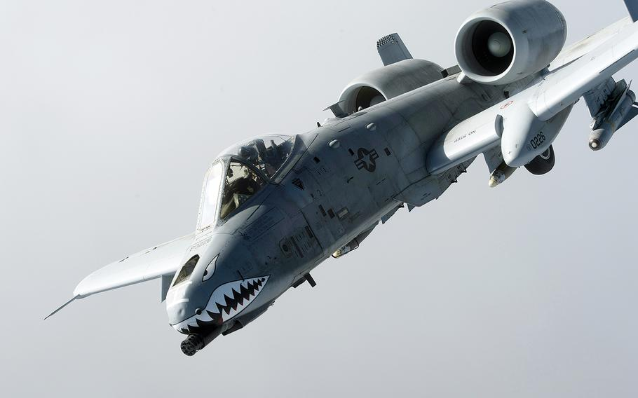 """A group of eight Republican senators are pressing new Defense Secretary Ashton Carter to stop the Air Force from shifting 18 A-10 attack aircraft into backup status until he and Congress can """"fully scrutinize"""" the service's plan."""
