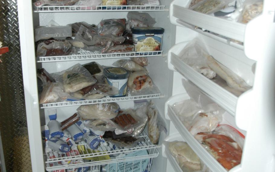 Alaskans keep extra refrigerators in their garages to store moose meat and salmon.