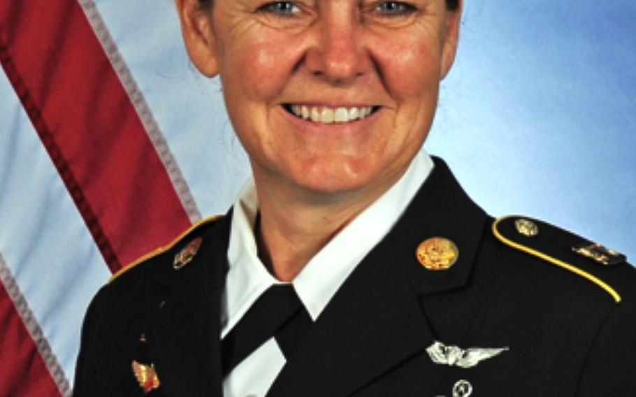 Command Sgt. Major Sheryl Lyon