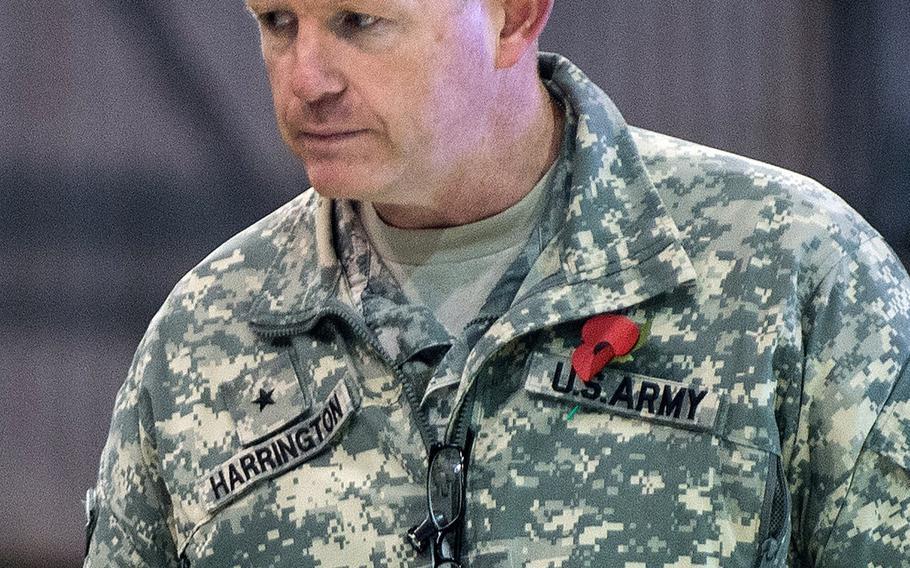 Brig. Gen. Joseph Harrington has been assigned to command U.S. Army Africa.