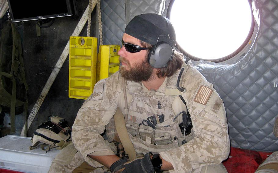 Navy SEAL Senior Chief Petty Officer Edward C. Byers Jr., will be awarded the Medal of Honor for his actions during a 2012 rescue operation in Afghanistan. Byers' uniform insignia was digitally removed from this photo for security reasons.