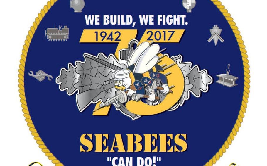 The Navy has unveiled an updated Seabees logo and theme ahead of the fighting construction force's 75th anniversary in 2017.