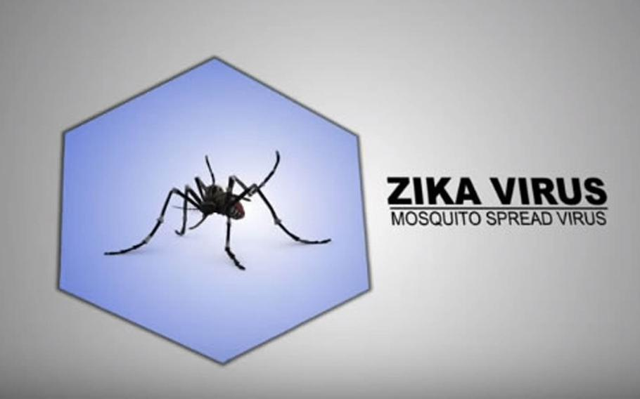 A screenshot from a U.S. Navy YouTube video warning servicemembers about the dangers and risks of the Zika virus. Over the past month, the military has been informing personnel stationed overseas about the risks posed by Zika, a mosquito-spread illness that can cause birth defects.