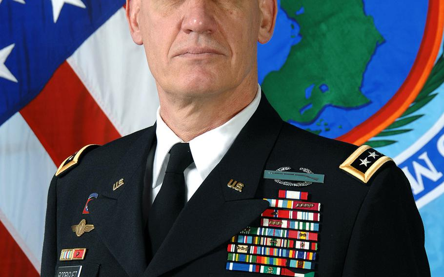 U.S. Army Gen. David M. Rodriguez became the third commander of U.S. Africa Command, headquartered in Stuttgart, Germany, on April 5, 2013.