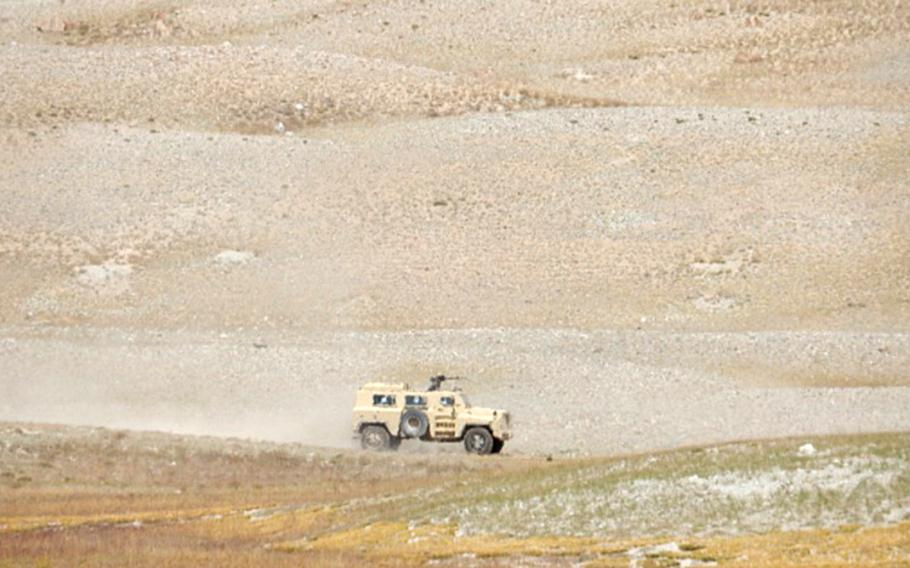In November, an Indian news outlet published photographs of vehicles on patrol in the Wakhan corridor close to Afghanistan's border with China, which it said could be a Chinese variant of the MRAP. Reports of such patrols suggest Beijing is seeking to play a larger role in regional stability.