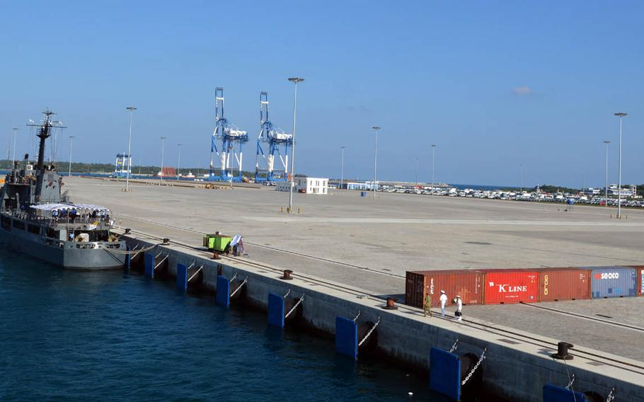 Sri Lanka's state-of-the-art, Chinese-built Hambantota port remains lightly used, as evident during a recent stop by the U.S. military during the Pacific Partnership 2017 humanitarian exercise.