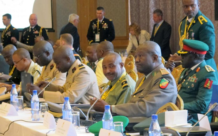 Army chiefs from some 40 African nations attended the first day on Monday of the African Land Forces Summit in Lilongwe, Malawi. The summit hosted by U.S. Army Africa seeks to develop trust, cooperation and friendly military relationships on the African continent.