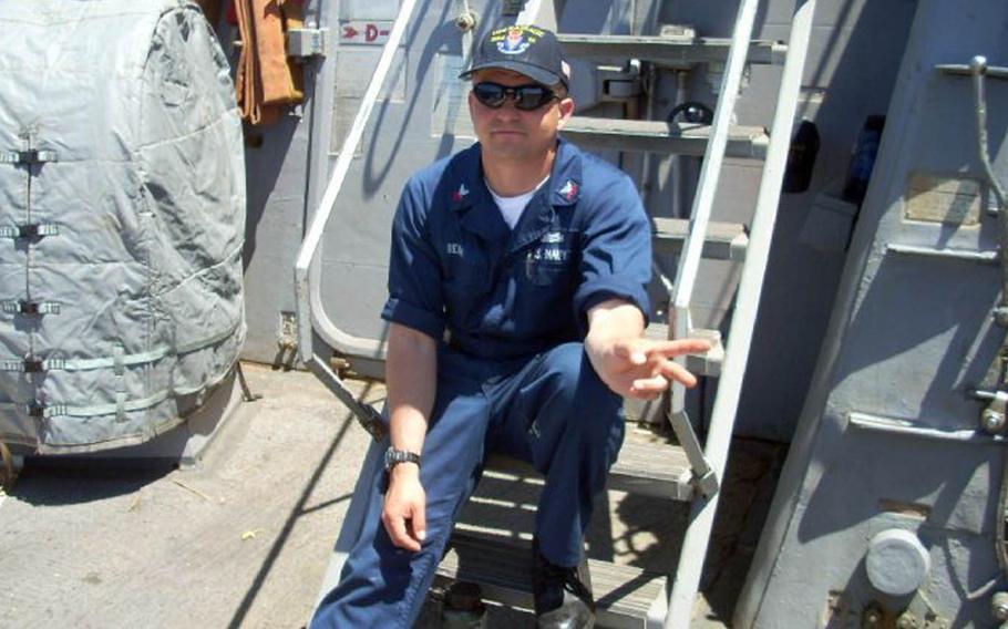 Fire Controlman 1st Class Gary Leo Rehm Jr., 37, of Elyria, Ohio.