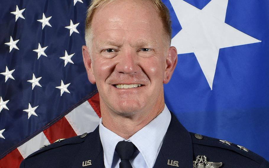 U.S. Air Force Maj. Gen. Mark Hicks took the helm of the Stuttgart, Germany-based Special Operations Command Africa, Thursday June 29, 2017.