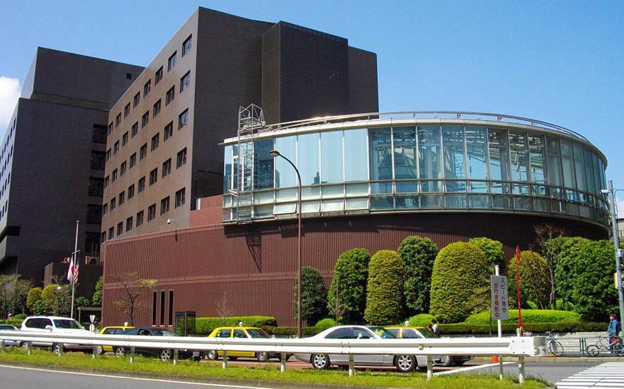 The New Sanno Hotel in Minato Ward, Tokyo.