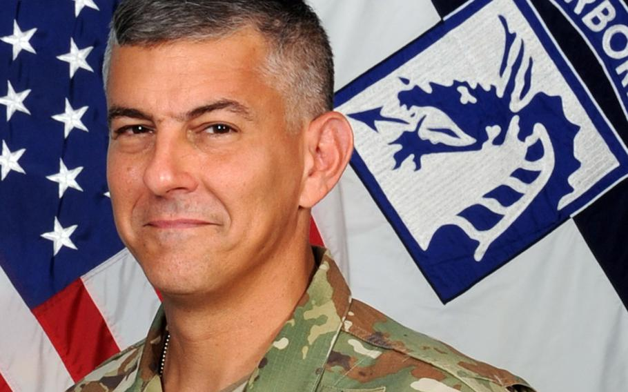 Lt. Gen. Stephen Townsend, commander of Combined Joint Task Force - Operation Inherent Resolve  U.S. Army