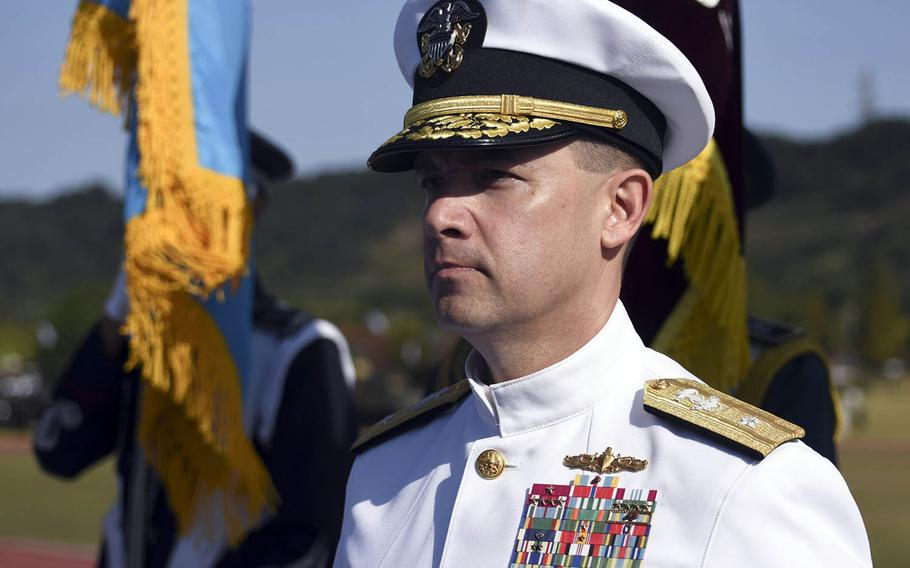 Rear Adm. Brad Cooper has been tapped to replace Rear Adm. Marc Dalton as the next commander of 7th Fleet's amphibious force.
