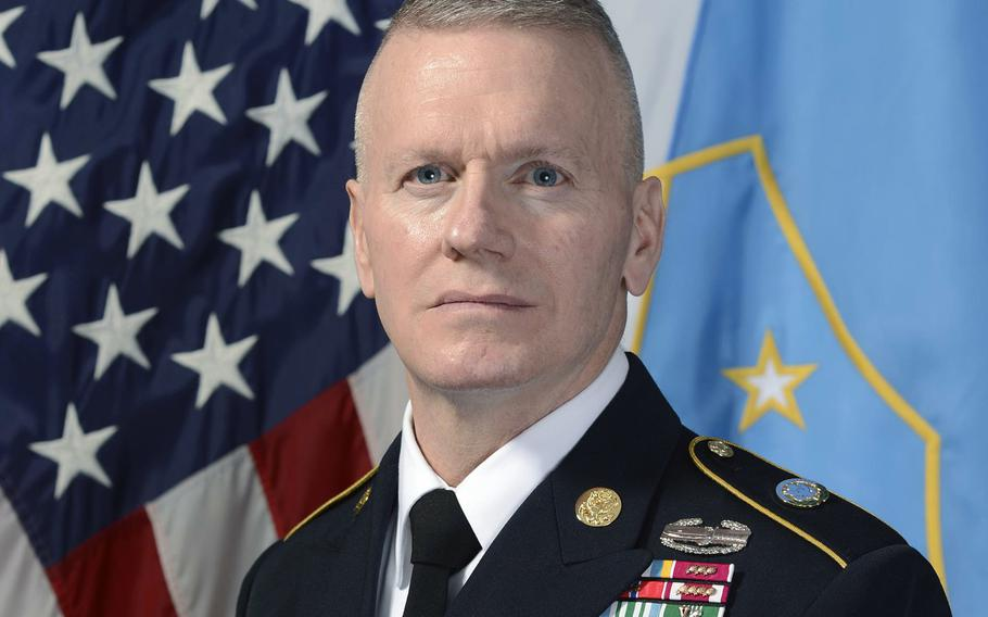 Army Command Sgt. Maj. John Wayne Troxell, the senior enlisted advisor to the chairman of the Joint Chiefs of Staf.