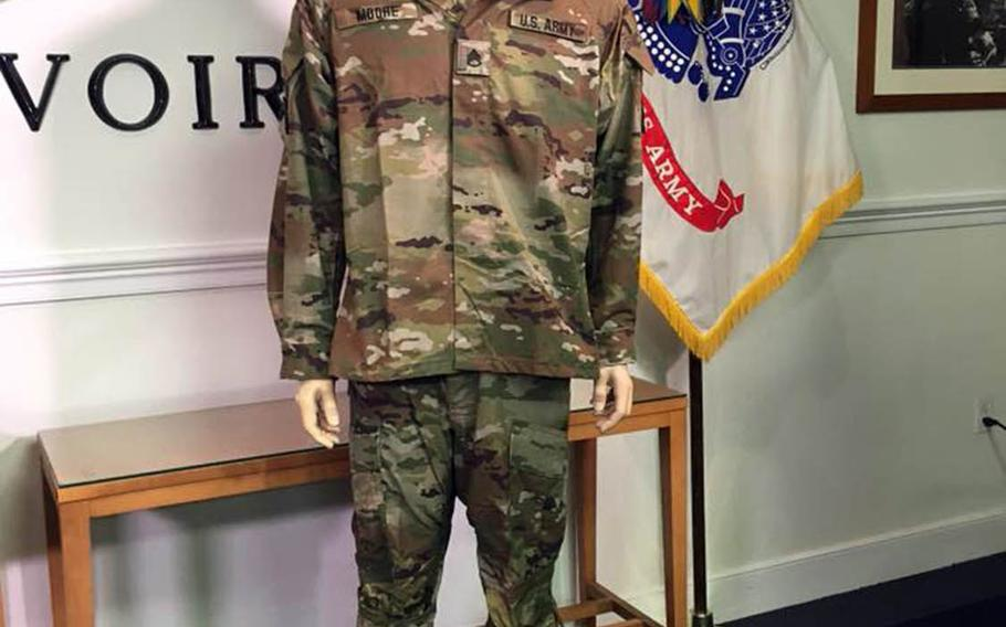 The Improved Hot Weather Combat Uniform now being field tested by soldiers in Hawaii.