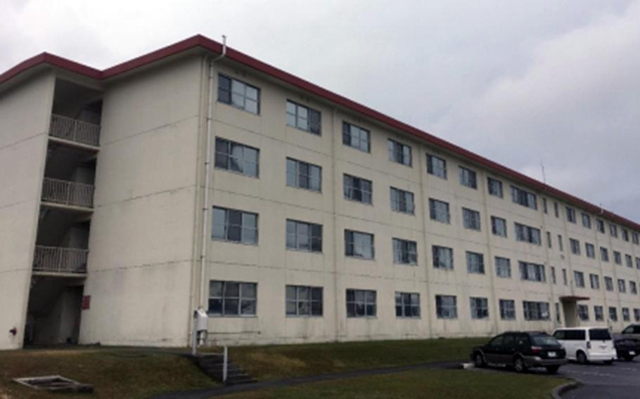 The Navy has awarded $14 million contract to renovate a 35-year-old barracks building at Marine Corps Air Station Futenma, Okinawa.