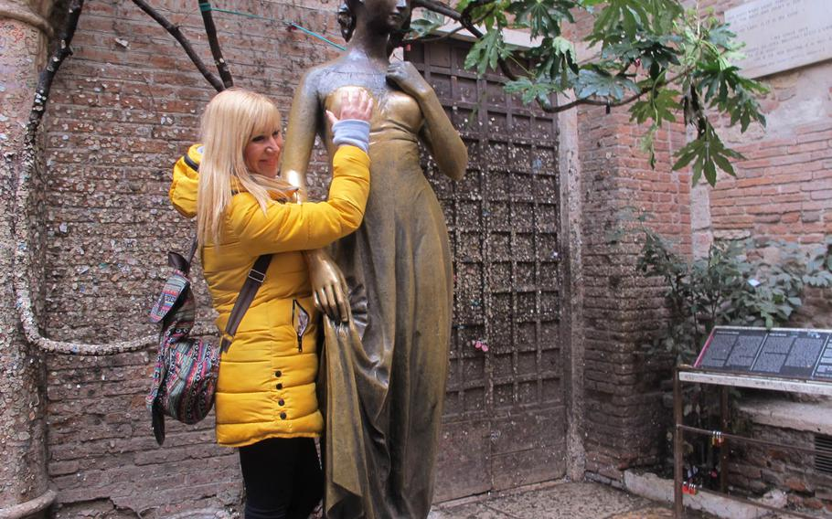 Many tourists touch the statue's breast, an action said to bring good luck. But it did the opposite for a Boston gynecological surgeon when he showed a photo of him doing so at a conference.