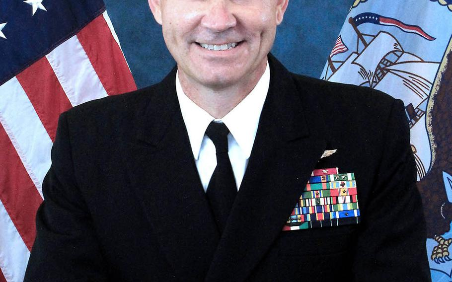 Rear Adm. Scott Stearney has been nominated to take charge of 5th Fleet, the epicenter of naval operations in the Middle East.