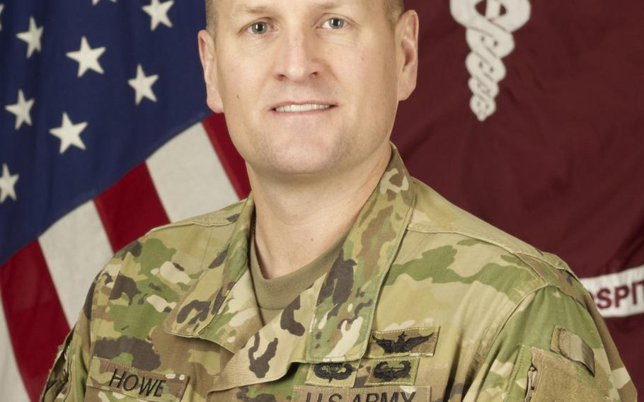 Col. Robert Howe, commander of the U.S.-led medical task force in Iraq, as shown in 2016.