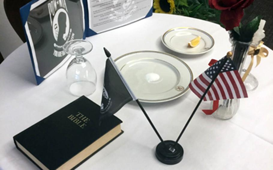 A Bible included in a POW/MIA display at U.S. Naval Hospital Okinawa has drawn complaints from the Military Religious Freedom Foundation.