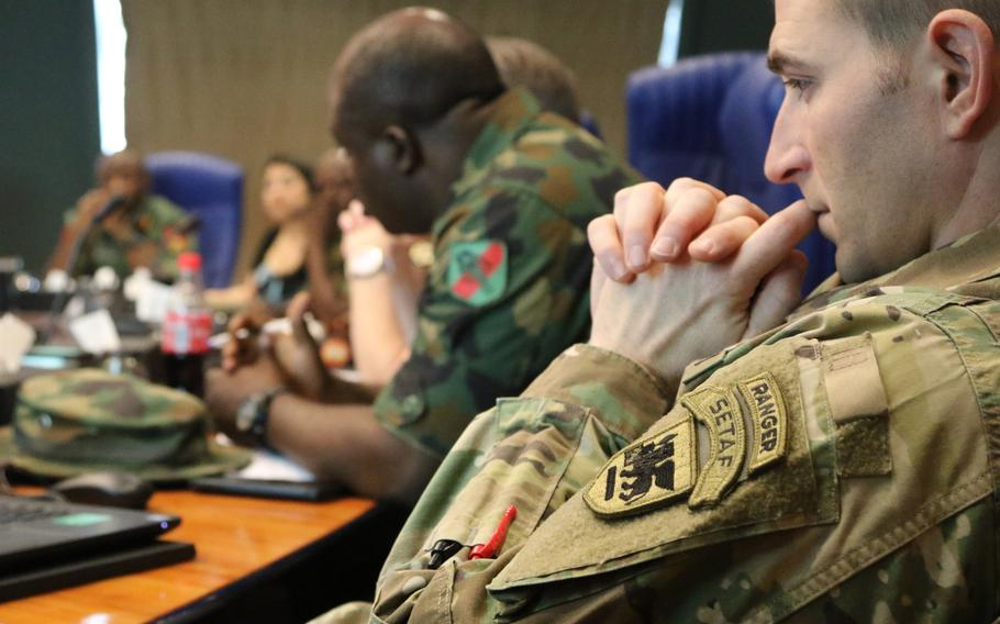 Nigerian army and U.S. Army Africa soldiers and civilians joined forces in Abuja to put the finishing touches on 2018's African Land Forces Summit during the final planning event, Feb. 5-9, 2018.