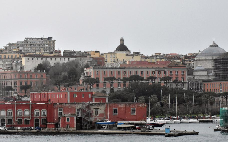 The Port of Naples is large enough and deep enough to accommodate some U.S. Navy ships. The mayor of Naples has declared the port off-limits to nuclear-powered ships, but does not have the jurisdiction to enforce such a ban.