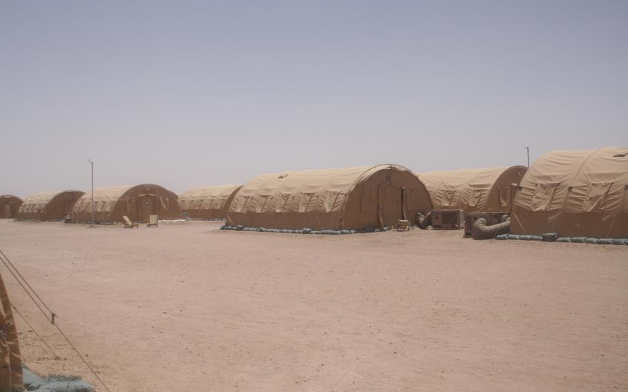 For now, the base in Agadez, Niger, is deemed expeditionary, which means U.S. troops stationed there will be living in tents rather than more permanent buildings.