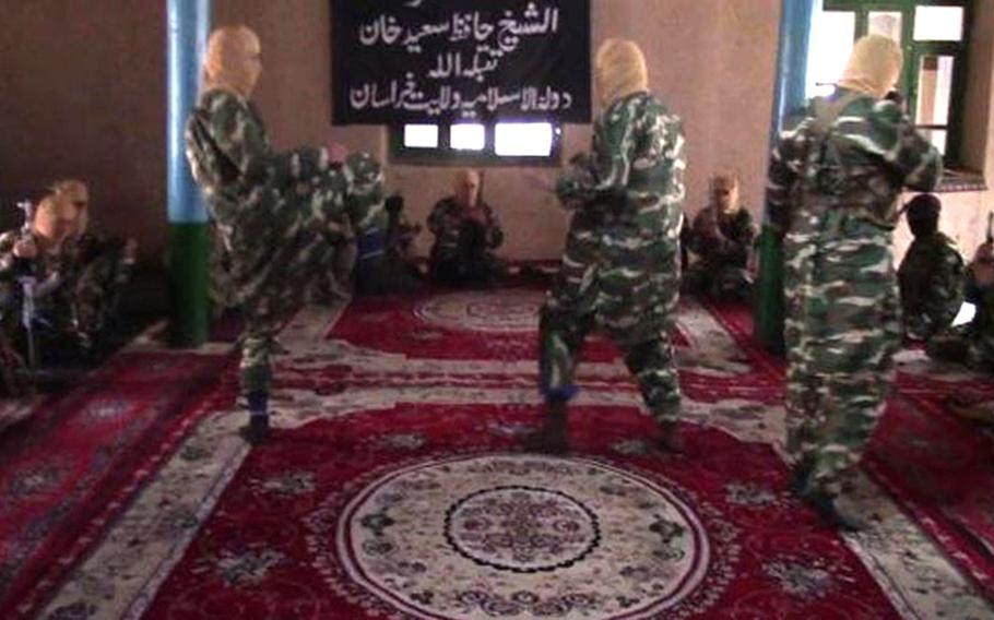 Afghan and U.S. Special Operation Forces captured a stockpile of propaganda products belonging to an ISIS affiliate during a nighttime raid in Jowzjan province, northern Afghanistan. A video clearly depicts the group filming combat-themed propaganda inside of a mosque.