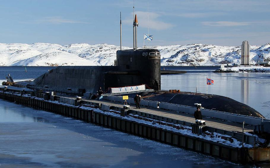 Russian submarines such as the Tula are increasingly active in the Mediterranean, Black Sea and North Atlantic. Adm. James Foggo has observed Russia expanding its submarine presence in the European theater in the past several years.