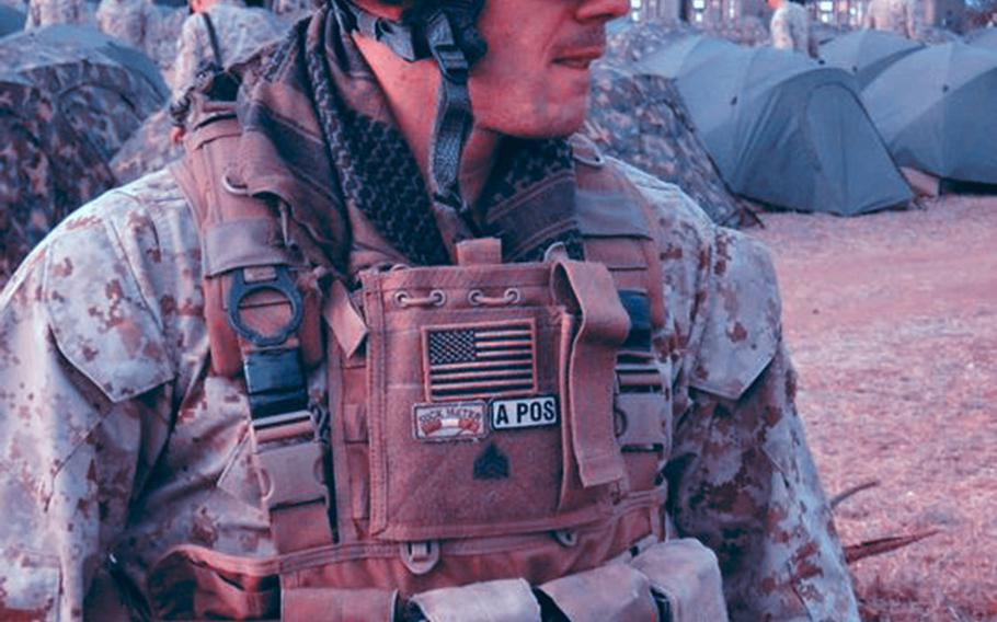Marine Sgt. Matt DeMaio is pictured during a 2010 deployment to Mozambique, where he had the idea to make Condition One nutrition bars.
