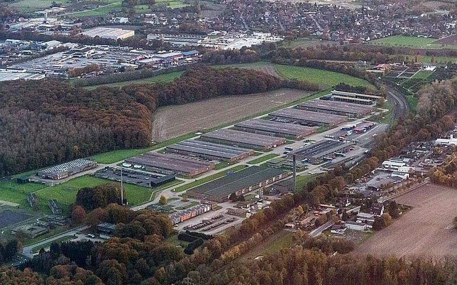 In June 2017 a group of workers at a U.S. Army warehouse on Tower Barracks in Dulmen, Germany, were exposed to a toxic agent after mishandling a shipment of material that contained cadmium, according to the Army.