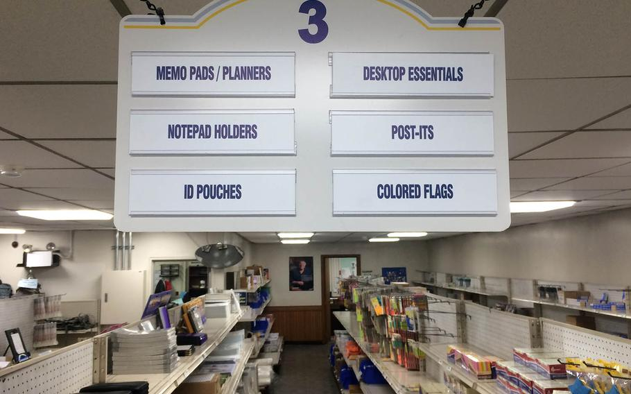General Services Administration stores are being updated from selling government-managed inventory to having their shelves stocked by commercial vendors such as Office Depot.