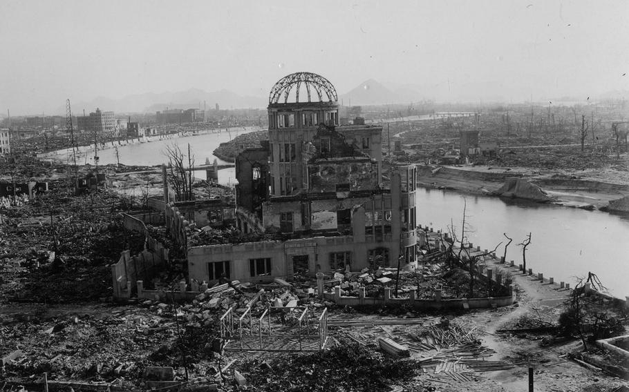 A mother and daughter from Hawaii have gifted 36 photos taken soon after Hiroshima, Japan, was destroyed by an atomic bomb to the city's peace museum.