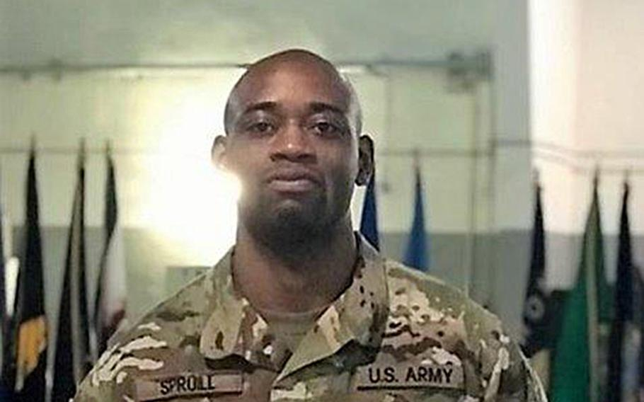 Spc. Melvin Douglas Spruill Jr. died last week in an apparent drowning  in a village south of Frankfurt, the Army said Monday.