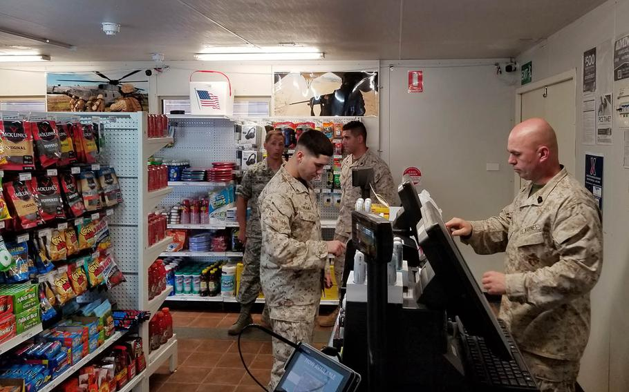 The Army and Air Force Exchange Service recently opened a two-register outlet at Robertson Barracks to replace a mobile exchange that had served troops out of a 44-foot container at the home of Marine Rotational Force Darwin in Australia.