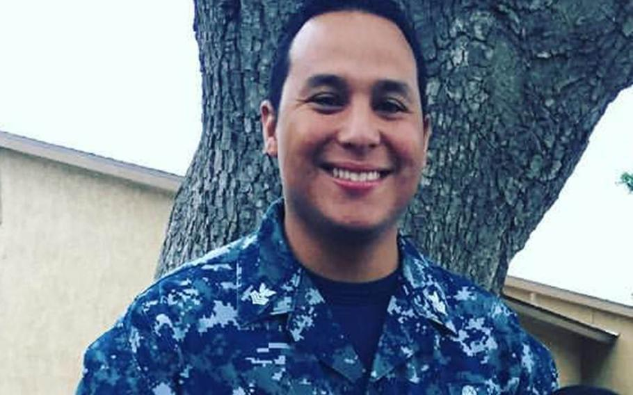 Prosecutors said Petty Officer 1st Class Gilbert Sandoval of the USS Ronald Reagan tried to meet a person he believed to be a 14-year-old high school freshman for sexual acts. He was also accused of planning to have sex with a 7-year-old girl.